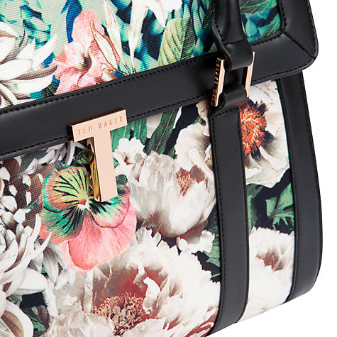 Buy Ted Baker Tangled Floral Tote Bag, Ivory Online at johnlewis.com