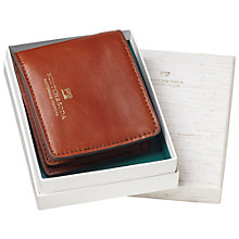 Buy Scotch & Soda Leather Wallet with Money Clip, Brown Online at johnlewis.com