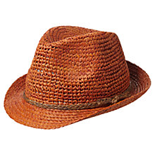 Buy Scotch & Soda Beachy Straw Hat, Natural Online at johnlewis.com
