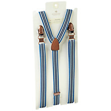 Buy Scotch & Soda Striped Braces, Blue Online at johnlewis.com