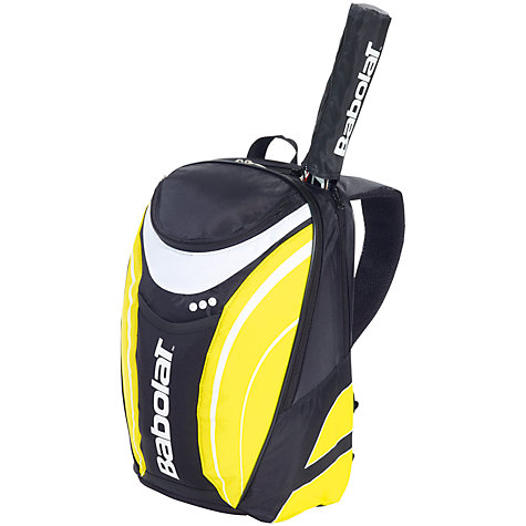 Buy Babolat Club Line Backpack, Black/Yellow Online at johnlewis.com