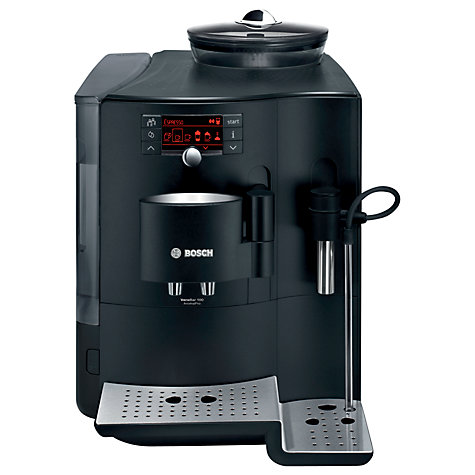 Buy Bosch TES71129RW VeroBar AromaPro 100 Bean-to-Cup Coffee Machine, Black Online at johnlewis.com