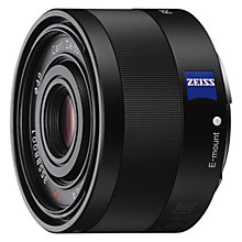 Buy Sony SEL35F28Z Sonnar T 35mm f/2.8 ZA Wide Angle Lens Online at johnlewis.com