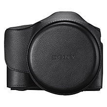 Buy Sony LCS-ELCA Premium Leather Case for A7/A7R Online at johnlewis.com