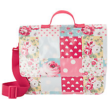 Buy Cath Kidston Patchwork School Satchel, Multi Online at johnlewis.com