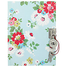Buy Cath Kidston Bright Daisies Diary, Blue/Multi Online at johnlewis.com