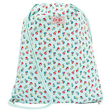 Buy Cath Kidston Elgin Ditsy Drawstring Bag, Blue/Multi Online at johnlewis.com