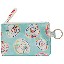 Buy Cath Kidston Teatime Pocket Purse with Keyring, Blue Online at johnlewis.com