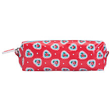 Buy Cath Kidston Sweetheart Pencil Case, Red Online at johnlewis.com