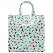 Buy Cath Kidston Ditsy Print Mini Shopping Bag, Turquoise Online at johnlewis.com