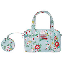 Buy Cath Kidston Bright Daisy Mini Zip Bag, Blue Online at johnlewis.com