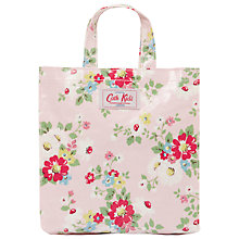 Buy Cath Kidston Floral Print Mini Shopping Bag, Pink Online at johnlewis.com