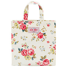 Buy Cath Kidston Rose Print Mini Shopping Bag, Cream/Multi Online at johnlewis.com