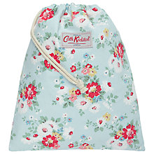 Buy Cath Kidston Daisy Drawstring Washbag, Blue/Multi Online at johnlewis.com