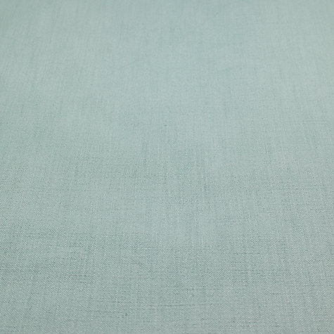 Buy John Lewis Pier Semi Plain Fabric, Duck Egg, Price Band B Online at johnlewis.com