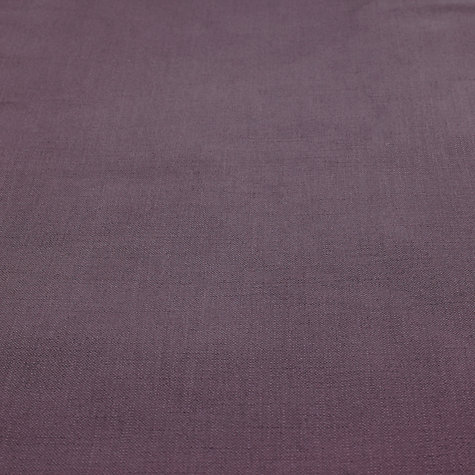 Buy John Lewis Pier Semi Plain Fabric, Pale Cassis, Price Band B Online at johnlewis.com