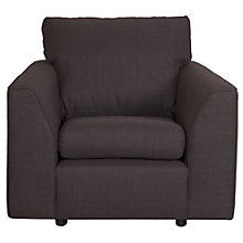 Buy John Lewis The Basics Jacob Armchair, Bowden Charcoal Online at johnlewis.com