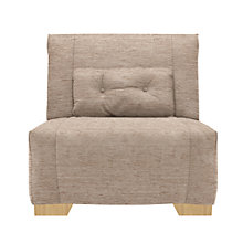 Buy John Lewis Strauss Chair Bed, Rivoli Mocha Online at johnlewis.com