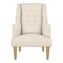 Buy John Lewis Blair Armchair, Teramo Natural Online at johnlewis.com