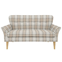 Buy John Lewis Carrie Petite Sofa, Beatrix Check Natural Online at johnlewis.com