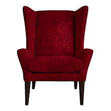 Buy John Lewis Katie Chair, Como Crimson Red Online at johnlewis.com