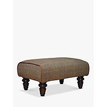 Buy Harris Tweed for John Lewis Lewis Footstool, Bracken/Tan Online at johnlewis.com
