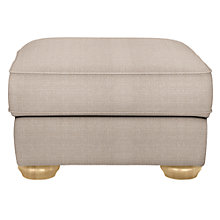Buy John Lewis Madison Footstool, Bala Putty Online at johnlewis.com