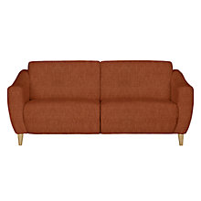 Buy John Lewis Newark Medium Sofa, Henley Terracotta Online at johnlewis.com