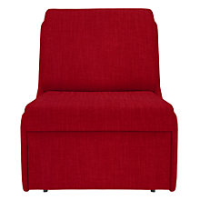 Buy John Lewis Jessie Chair Bed, Senna Crimson Online at johnlewis.com
