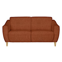 Buy John Lewis Newark Small Sofa, Henley Terracotta Online at johnlewis.com