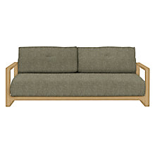 Buy John Lewis Mercer Sofa Bed, Stanton Putty Online at johnlewis.com