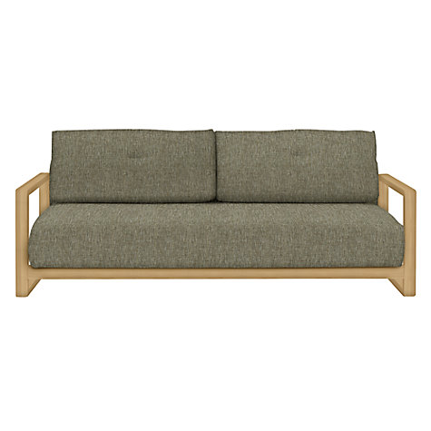Buy john lewis mercer sofa bed stanton putty john lewis for Sofa bed john lewis