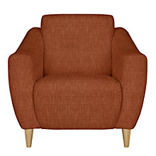 Buy John Lewis Newark Armchair, Henley Terracotta Online at johnlewis.com