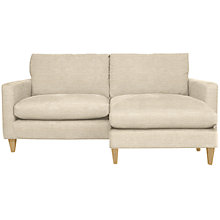Buy John Lewis Bailey RHF Chaise End Sofa, Milton Putty Online at johnlewis.com