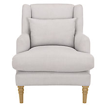 Buy John Lewis Croft Collection Berwick Armchair, Pier French Grey Online at johnlewis.com