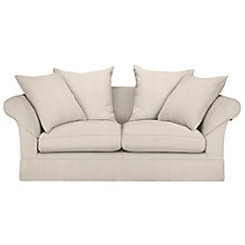 Buy John Lewis Chambery Large Fixed Cover Sofa, Berlin Stripe Crimson Red Online at johnlewis.com