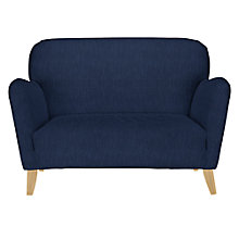 Buy John Lewis Hattie Petite Sofa with Dark Legs, Henley Midnight Online at johnlewis.com
