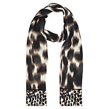 Buy Windsmoor Animal Print Scarf, Neutral Online at johnlewis.com