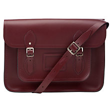 "Buy The Cambridge Satchel Company The Classic 14"" Leather Satchel Bag Online at johnlewis.com"