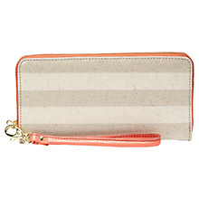 Buy Fossil Sydney Zip Around Phone Wallet Online at johnlewis.com