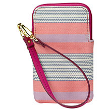 Buy Fossil Key-Per Carryall Purse, Pink Online at johnlewis.com