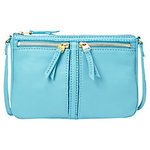 Buy Fossil Erin Leather Small Top Zip Shoulder Bag Online at johnlewis.com
