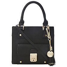 Buy Dune Dinky Front Pocket Tote Bag, Black Online at johnlewis.com