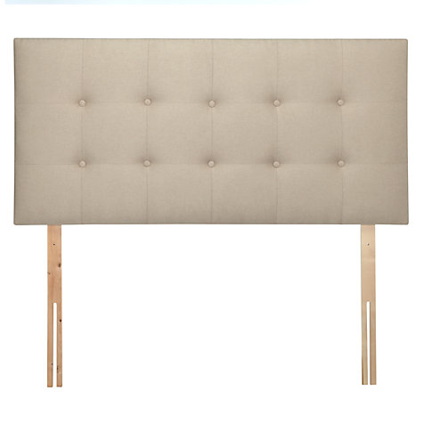 Buy Tempur Mornington Headboard, Double Online at johnlewis.com