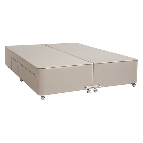 Buy Tempur Continental Divan Storage Bed, Double Online at johnlewis.com
