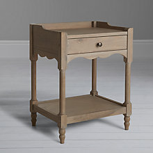 Buy John Lewis Etienne 1 Drawer Bedside Table, Oak Online at johnlewis.com