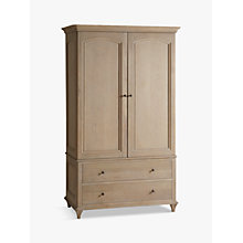 Buy John Lewis Etienne Double Wardrobe, Oak Online at johnlewis.com