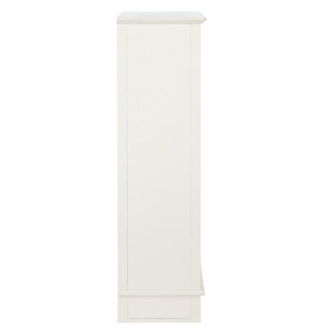 Buy little home at John Lewis Victoria Bookcase, Ivory Online at johnlewis.com