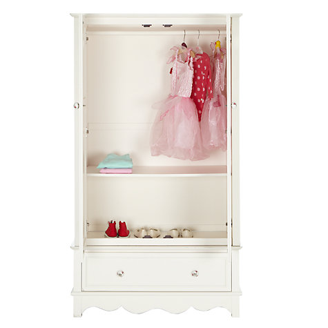 Buy little home at John Lewis Victoria 2 door Wardrobe, Ivory Online at johnlewis.com