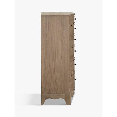 Buy John Lewis Etienne 5 Drawer Tall Mirror Chest Oak